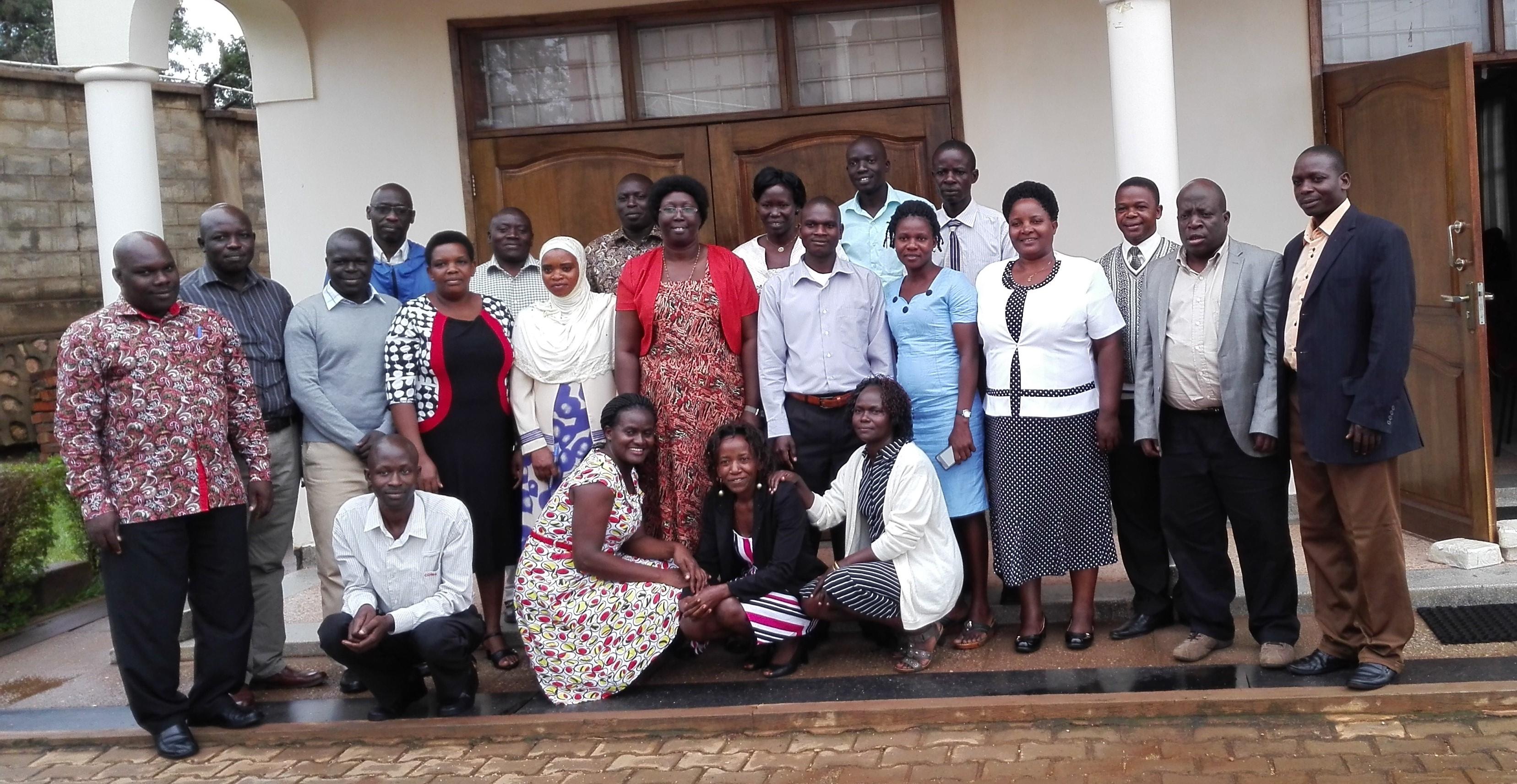 ASPnet school coordinators during a workshop